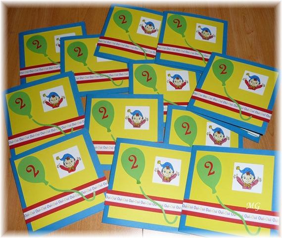 Carte D Invitation D Anniversaire D Arthur Scrapmarinette S Blog